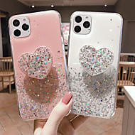 Case For Apple iPhone 11 / iPhone 11 Pro / iPhone 11 Pro Max with Stand / Glitter Shine Back Cover Glitter Shine TPU