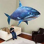 Fjernstyret haj Fjernstyrede dyr Flyvende haj Clown Fish Oppustelig Realistisk bevægelse Luft svømmer PP+ABS for Alle Drenge Pige