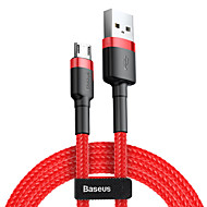 cheap -Baseus cafule Cable USB For Micro 1.5A 2M RedRed