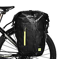 25 L Bike Pannier Bag Adjustable Large Capacity Waterproof Bike Bag PVC 1000D Polyester Bicycle Bag Cycle Bag Cycling Bike / Cycling / Reflective Strips / Waterproof Zipper