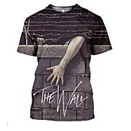 preiswerte -Herrn Buchstabe - Grundlegend T-shirt Grau