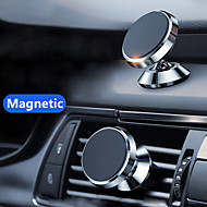cheap -Magnetic Car Phone Stand Dashboard Phone New Luxury Stand Holder for IPhone for Huawei Lite Magnet Air Hole Handle Installation