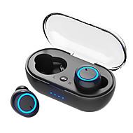 LITBest D10 אוזניות אלחוטיות אלחוטי EARBUD Bluetooth 5.0 סטריאו עם תיבת טעינה