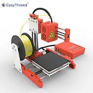 Easythreed et-4000-x1 mini 3d yazıcı 3d yazıcı 100 * 100 * 100mm 0.4mm taşınabilir / yetiştirme için / çocuk hediye olarak