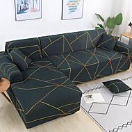 abordables -Cobertor de Sofá Geométrico / NEUTRAL / Contemporáneo Impreso Poliéster Fundas