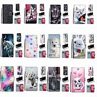 القضية ل xiaomi redmi note 8 pro / redmi note 8 / redmi note 7 pro wallet / holder card / with stand snow puppy pu leather / tpu for redmi note 7 / mi cc9 / mi cc9e / redmi k20 pro