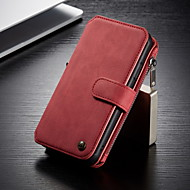 cheap -CaseMe Multifunctional Magnetic Luxury Business Leather Flip Phone Case For Samsung Galaxy S10 / S9 / S8 / S10 Plus / S9 Plus / S8 Plus With Wallet Card Slot Stand Detachable Case Cover