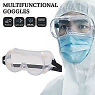 cheap -Goggles Shock Proof Glasses Fog Proof Splash Proof Labor Protection Transparent Protective Glasses