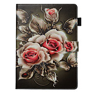 cheap -Case&Stylus pen For Apple iPad Pro 10.5 / Ipad air3 10.5' 2019  with Stand / Flip Back Cover Flower PU Leather
