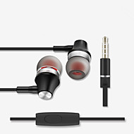 cheap -FIXST FIXST FE01 Wired In-ear Earphone Wired Stereo with Microphone with Volume Control InLine Control for Travel Entertainment