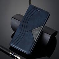 étui pour huawei p smart plus (2019) / p30 pro / p30 lite portefeuille / porte-cartes / étuis complets antichoc motif géométrique étui en cuir pu pour huawei p20 pro / p20 lite / p smart (2019)