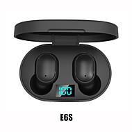cheap -imosi E6S TWS True Wireless Earbuds Wireless Stereo with Microphone with Volume Control with Charging Box Waterproof IPX4 for Mobile Phone