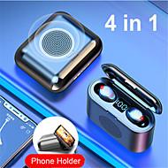 cheap -New True Wireless Bluetooth Earphone and Speaker 2 in 1 HD Stereo Wireless Headphones Mini Earbuds Bass Headset with 2000mAh Bin