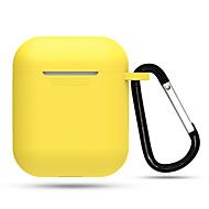 myk silisiumveske for airpods beskyttelsesdeksel ermet fargerik etui for iphone xs max xs xr trådløse øretelefon tilbehør
