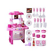 Toy kuchyňských sestav Jídlo hračky Hrajeme si na... PVC Dětské Chlapecké Dívčí Hračky Dárek