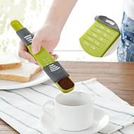 billige -måle kopp dobbel ende åtte boder justerbar skala måleskjeer doseringsskje bakervarer kjøkkenutstyr
