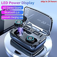 cheap -LITBest M11-TWS TWS True Wireless Earbuds Wireless Stereo with Microphone with Charging Box Waterproof IPX4 Sweatproof for Mobile Phone
