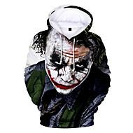 Inspired by Joker Joker Cosplay Costume Hoodie Polyster Print Printing T-shirt For Men's / Women's