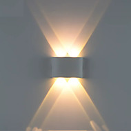 Kreativan / New Design LED / Moderna LED zidne svjetiljke Stambeni prostor / Magazien / Cafenele Aluminij zidna svjetiljka IP44 opći 1 W