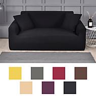 preiswerte -Sofabezug Sofabezug Möbelschutz einfarbig Soft Stretch Sofa Schonbezug Super dehnbarer Bezug passend für Sessel / Liebessitz / Dreisitzer / Viersitzer / L-Form Sofa einfach zu installieren und zu pfle
