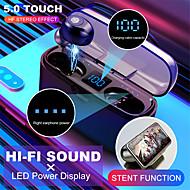 cheap -Wireless Bluetooth Earphone  V5.0 F9-8 TWS Wireless Bluetooth Headphone LED Display 2000mAh Charging Box Headsets With CVC8.0 Noise Reduction Microphone