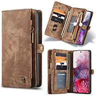 cheap -CaseMe Luxury Business Leather Case For Samsung Galaxy S20 / S20 Plus / S20 Ultra / Note 10 / Note 10 Plus / S10 Plus / S9 Plus / S8 Plus / S10 / S9 /S8 Wallet Card Case Detachable Magnetic Flip Case