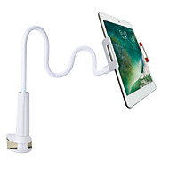cheap -Cell Phone Clip Holder Phone Stand for Desk Gooseneck Phone Holder Adjustable Lazy Holder Phone Mount Compatible with iPhone 11 Pro XS Max XR X 8 7 6 6S Plus, Samsung and More 4.7-7.9 Inch Devices