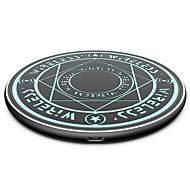 cheap -Magic Array Wireless Charger, 10/7.5 W Wireless Charger USB Charger USB LED Lights / with Cable / Wireless Charger 1 USB Port  for iPhone 11 / iPhone 11 Pro / iPhone 11 Pro Max / Samsung
