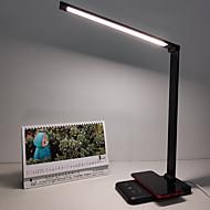 economico -Lampada da scrivania Pretezione per occhi / Ricarica wireless per telefono cellulare Contemporaneo moderno DC Alimentato Per Sala studio / Ufficio / Ufficio DC 5V