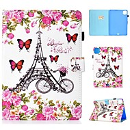 cheap -Case For Apple iPad Air/iPad Mini 3/2/1/4/5 Card Holder / Flip / Pattern Full Body Cases Eiffel Tower PU Leather For iPad Air 10.5 2019/iPad 10.2/Pro 11 2020/iPad 2017/iPad 2018