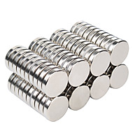100 pcs 9.8*1mm Magnet Toy Building Blocks Super Strong Rare-Earth Magnets Neodymium Magnet Magnetic Adults' Boys' Girls' Toy Gift