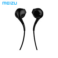 cheap -MEIZU EP2X Wired In-ear Earphone Wired Stereo with Microphone with Volume Control InLine Control for Mobile Phone
