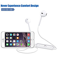 cheap -S6 Neckband Mini Wireless Bluetooth4.1 Headphone Life Sport Stereo In-Ear With Microphone