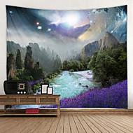 economico -magico cielo stellato digitale stampato arazzo decorazioni wall art tovaglie copriletto coperta da picnic spiaggia tiro arazzi colorato camera da letto sala dormitorio soggiorno sospeso