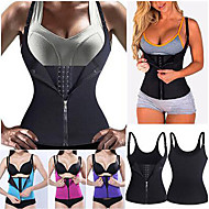 cheap -Waist Trainer Vest Body Shaper Sweat Waist Trainer Corset Sports Neoprene Yoga Pilates Exercise & Fitness Stretchy Weight Loss Tummy Control For Women