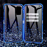 cheap -Magnetic 360 Metal Case For Samsung Galaxy A11 / A21 /A41 /A51 /A71 /A81 /A91 /A50 / A20 /A10 Double Sided Tempered Glass Case Cover for Samsung Galaxy S20 / S10 /Note 10 / 10Pro