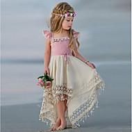 Χαμηλού Κόστους -παιδικά κορίτσια τούλι τούλι φόρεμα δαντέλα πάρτι prom αμάνικο φόρεμα πριγκίπισσα