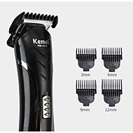 cheap -KEMEI KM-1407 6 in 1 Hair Clipper Electric Shaver Multi Functional Razor Nose Rechargeable Hair Trimmer Cordless Men Barber Tool Cutter Kit