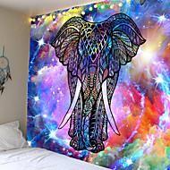 billige -mandala boheme veggteppe kunst dekor teppe gardin hengende hjem soverom stue sovesal dekorasjon boho hippie indisk elefant