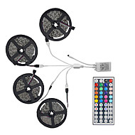cheap -20m Light Sets LED Light Strips RGB Tiktok Lights 600 LEDs 5050 SMD 10mm Remote Control / RC / Cuttable / Dimmable / Linkable / Suitable for Vehicles / Self-adhesive / Color-Changing / IP44