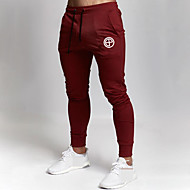 Men's Sweatpants Joggers Jogger Pants Track Pants Sports & Outdoor Athleisure Wear Bottoms Drawstring Running Walking Jogging Training Breathable Moisture Wicking Soft Sport Black Red Dark Gray Khaki