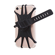 cheap -Motorcycle Bicycle Mobile Phone Holder Silicone Bike Handlebar Stand Mount Bracket Bike Mount Phone Holder For iPhone GPS Device