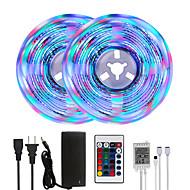 cheap -Bright RGBW LED Strip Lights 32.8ft 10M RGBW Tiktok Lights 2340LEDs SMD 2835 with 24 Keys IR Remote Controller and 100-240V Adapter for Home Bedroom Kitchen TV Back Lights DIY Deco
