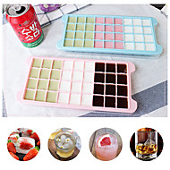 cheap -24 Grid Ice Cube Mold Silicone Ice Cube Tray Square Ice Tray Mold Easy Release Silicone Ice Cube Maker Bar Kitchen Accessories