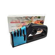 abordables -afilador de cuchillos 4 en 1 tijeras y tijeras de varilla fina recubiertas de diamante sistema de piedra de afilar de cocina profesional