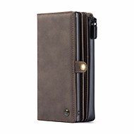 cheap -CaseMe New Multifunctional Business Luxury Leather Magnetic Flip Case For Samsung Galaxy S20 / S20 Plus / S20 Ultra / Note 10 / Note 10 Plus With Wallet Card Slot Stand 2-in-1 Detachable Wallet Cover