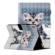 cheap -Case For Apple iPad Air  iPad (2018)  iPad Air2  iPad (2017)  iPad Pro9.7  iPad 5 6 7 8 Shockproof  Flip  Pattern Full Body Cases Butterfly  Animal  Flower PU Leather  TPU