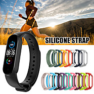 cheap -Newest for Xiaomi mi Band 5 Strap Silicone Soft TPU Wristband Replacement Colorful Strap for Xiaomi mi Band 5 Bracelets