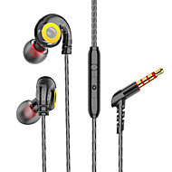 cheap -Sport Earphone Wired Super Bass 3.5mm Headset Earbud with Microphone Hands Free for Xiaomi