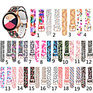 cheap -Printed Silicone Strap for Samsung Galaxy Watch Active 2 40mm 44mm / Active 40mm / Watch 42mm Gear Sport / Gear S2 Classic Smart Watch Bracelet Bands